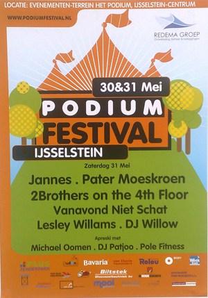 Affiche Podiumfestival