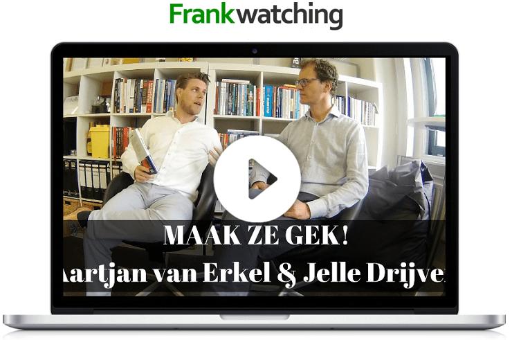 Frankwatching Podcast: Jelle Drijver interviewt Aartjan van Erkel