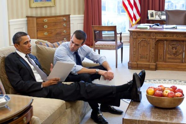 Jon Favreau - speechschrijver Barack Obama