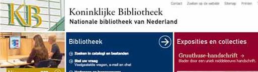 Tagline Koninklijke Bibliotheek