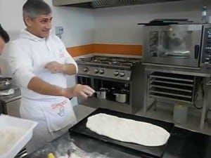 Meester-pizzabakker Pino Arletto, mijn mentor