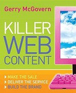 Gerry McGovern-Killer-Web-Content